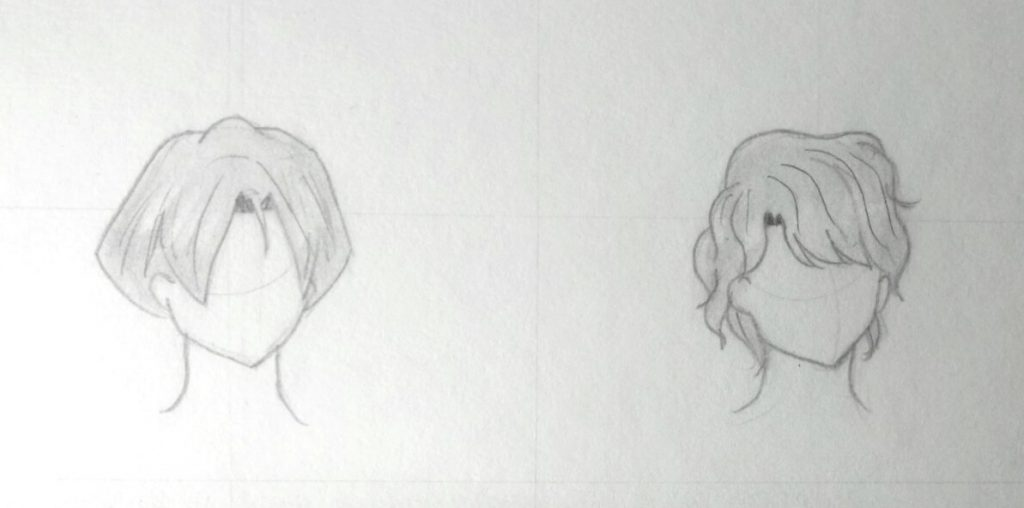 Peachy How To Draw Anime Hair Step By Step Guide For Boy And Girl Natural Hairstyles Runnerswayorg